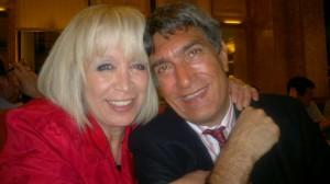 L'artiste Tomie Clément et son meilleur sponsor et mari, Daniel.